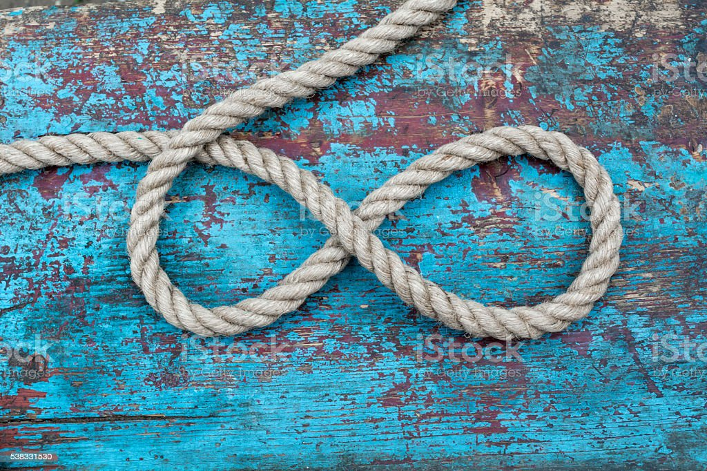 rope infinity stock photo