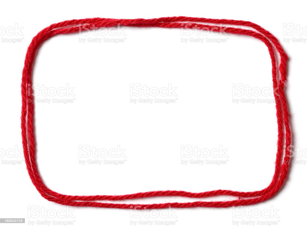 Rope loop royalty-free stock photo