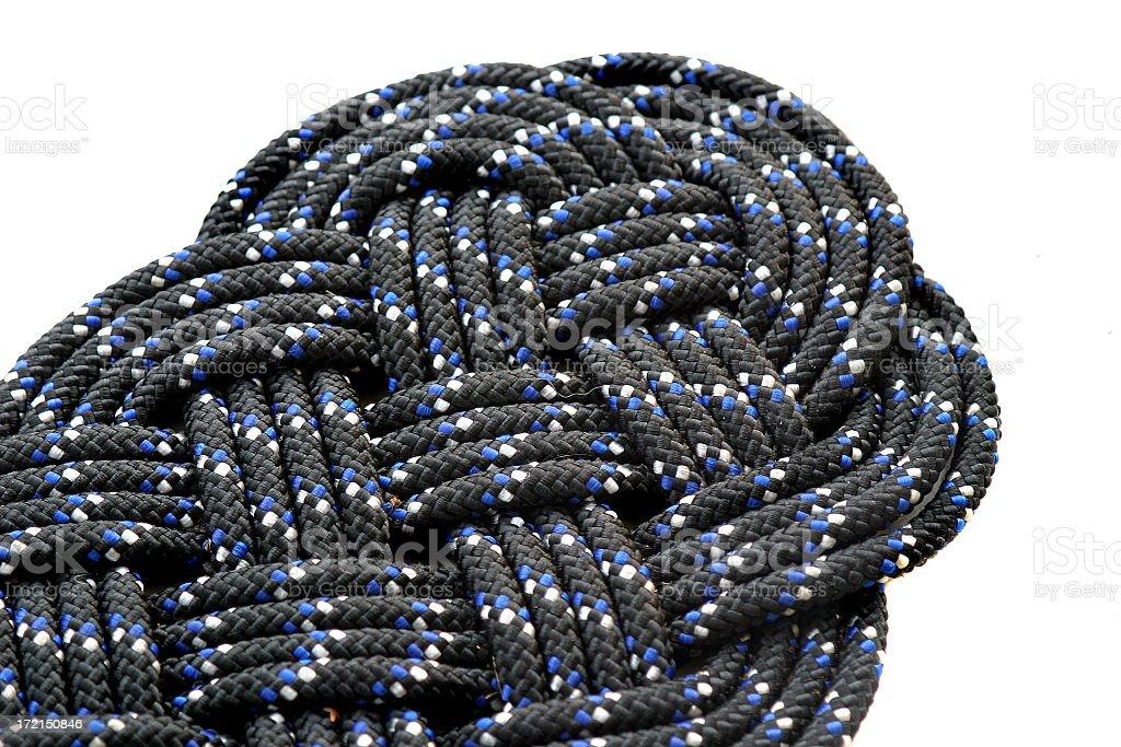 Rope Mat stock photo