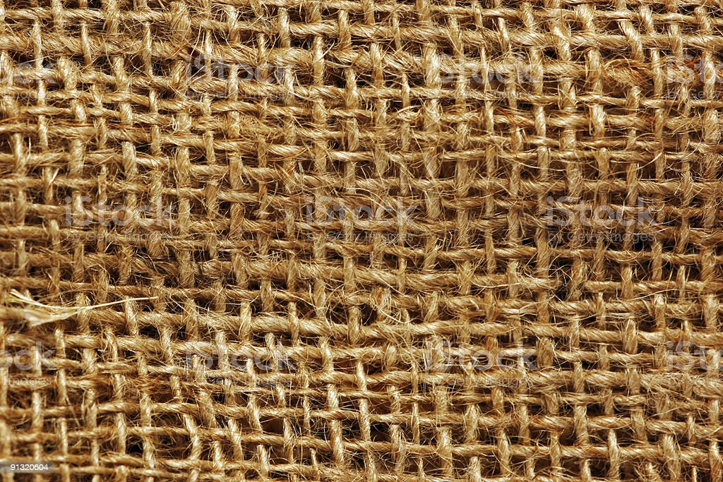 Rope Mesh Detail (Background) royalty-free stock photo