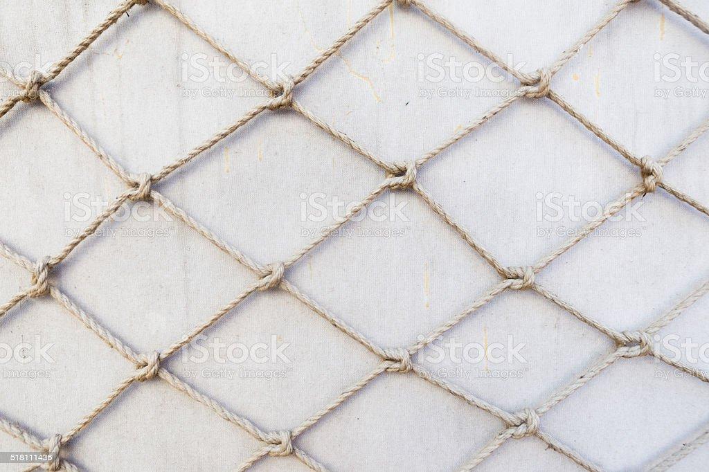 Rope Net stock photo