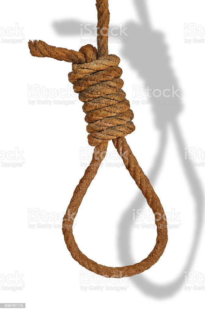 rope noose royalty-free stock photo