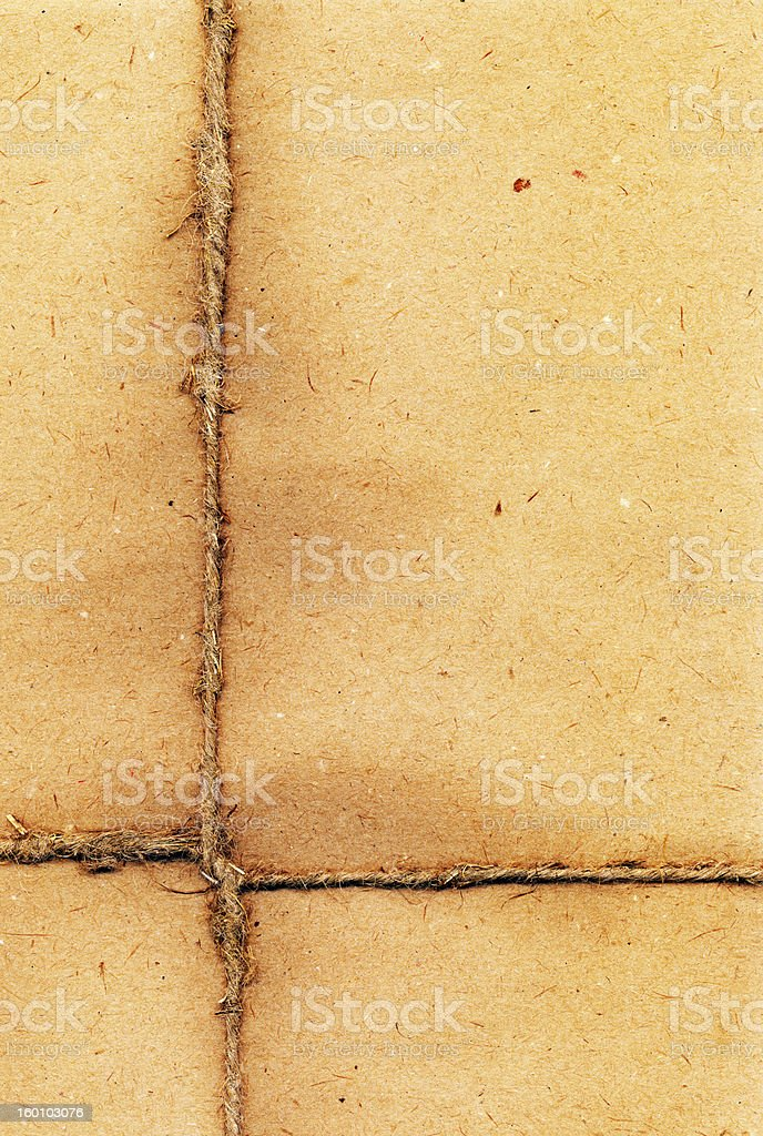 rope on the paper, XXL royalty-free stock photo