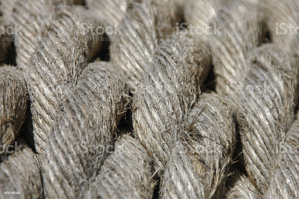 Rope Pattern royalty-free stock photo