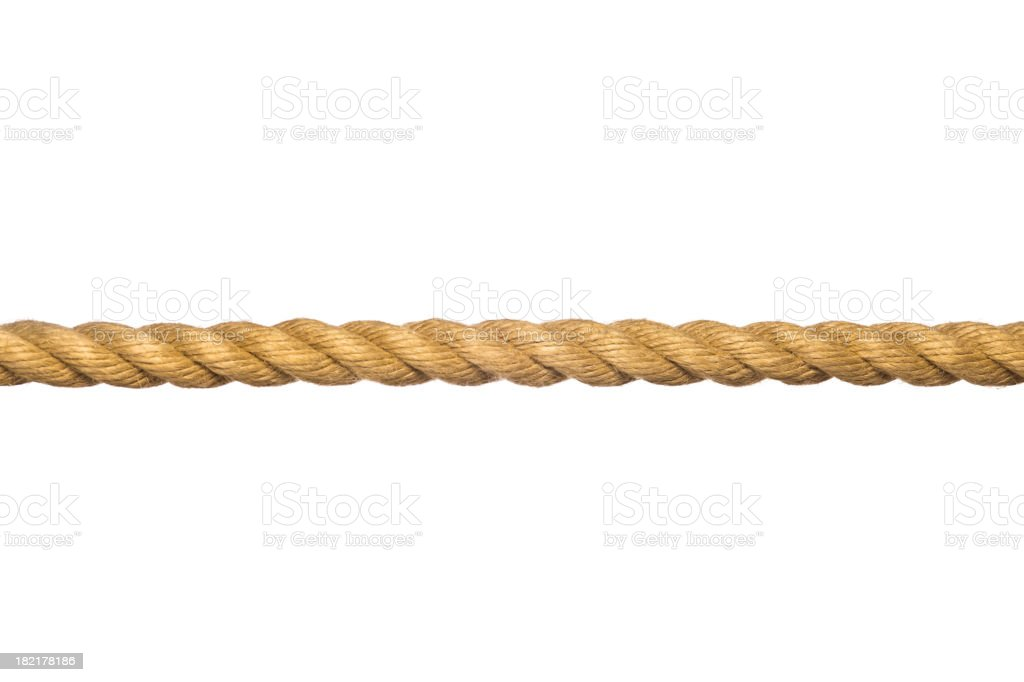 Rope. royalty-free stock photo