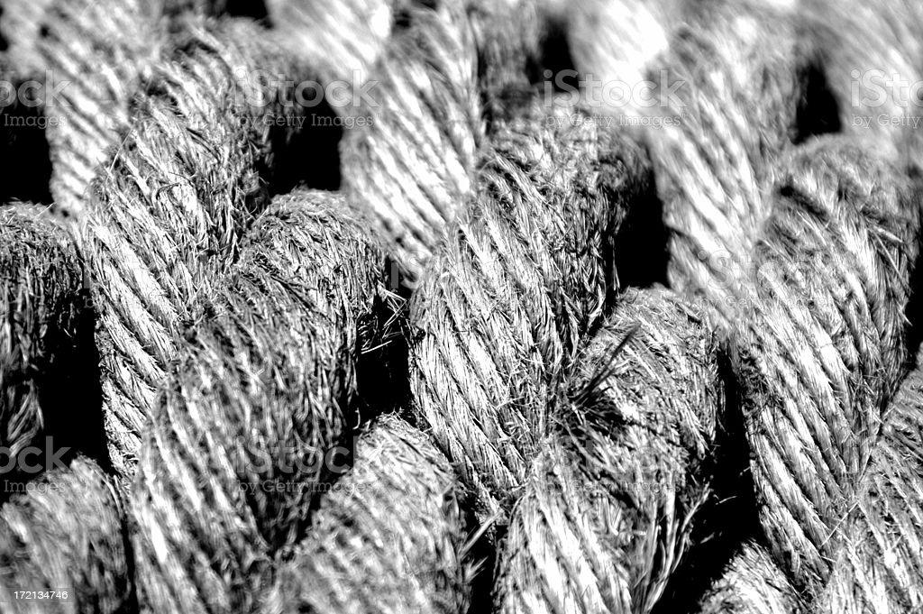Rope Texture stock photo