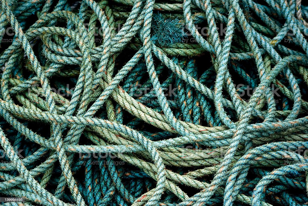 rope twist royalty-free stock photo