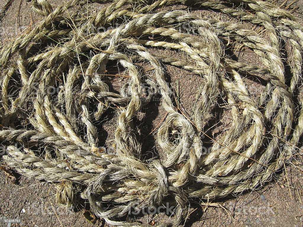 Rope_1 royalty-free stock photo