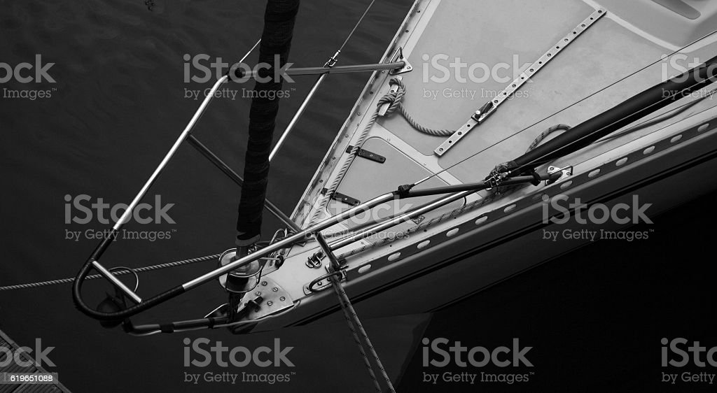 Ropes and Bows stock photo