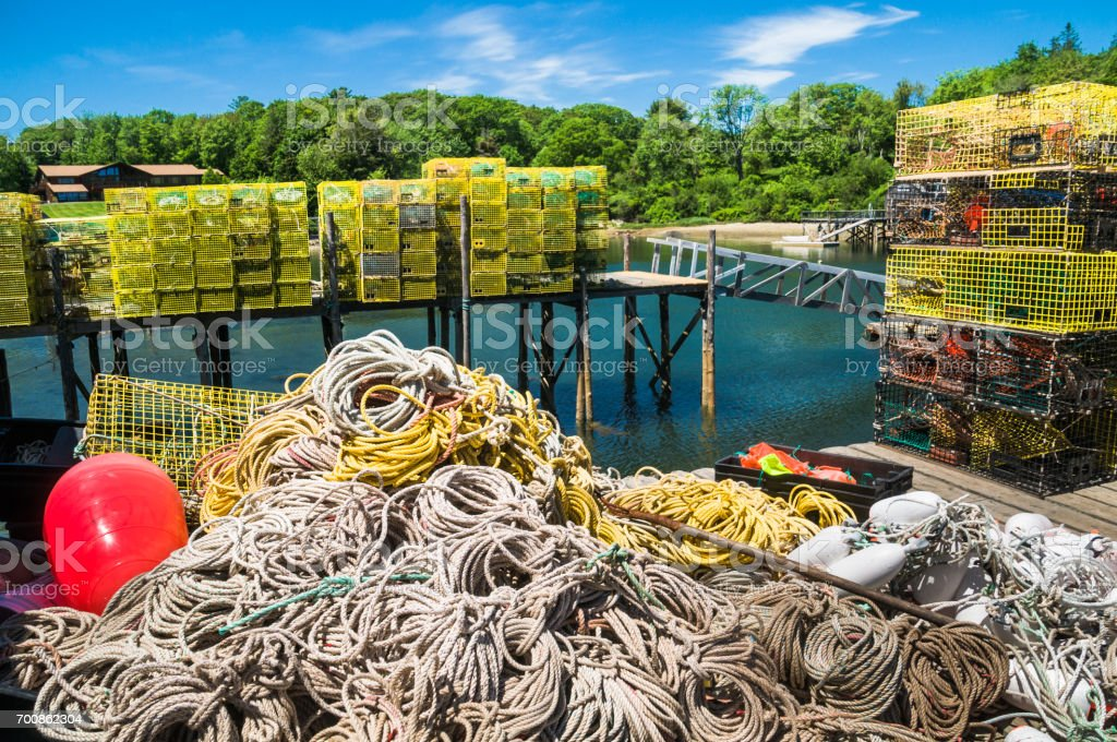 Ropes and Traps stock photo