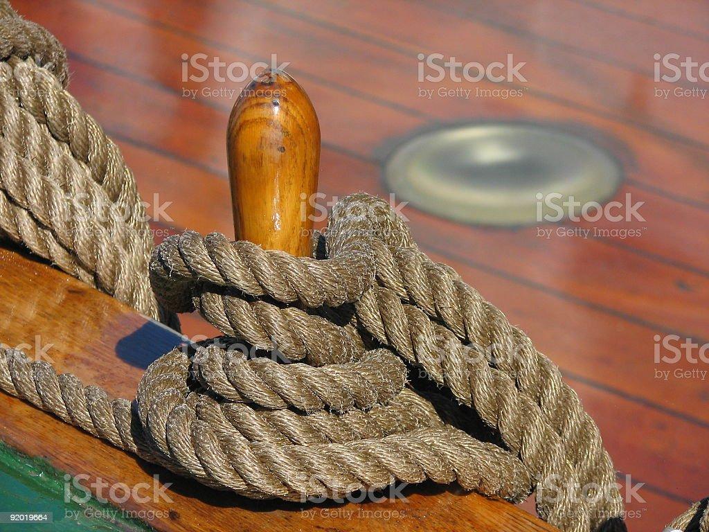 Ropes royalty-free stock photo