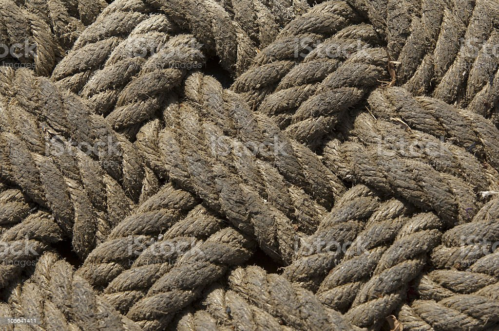 ropes,structure royalty-free stock photo