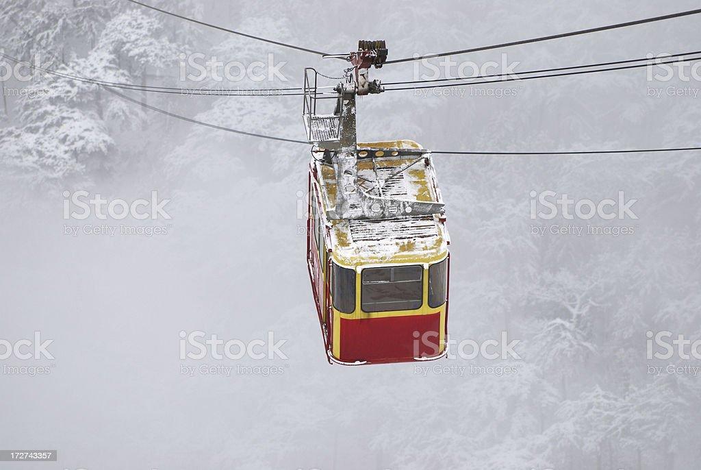 rope-way stock photo