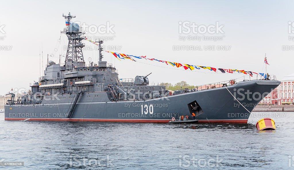 Ropucha-class landing ship, Project 775 stock photo