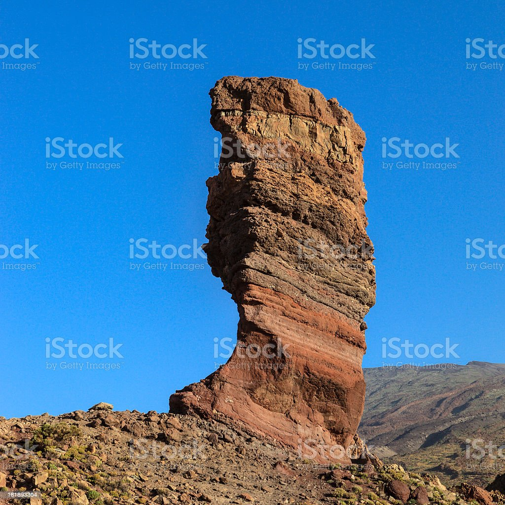 Roque Cinchado, Tenerife royalty-free stock photo