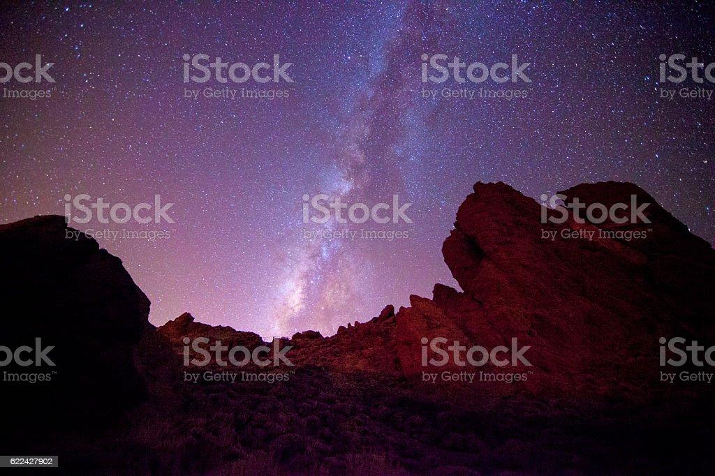 Roques de García in Tenerife stock photo