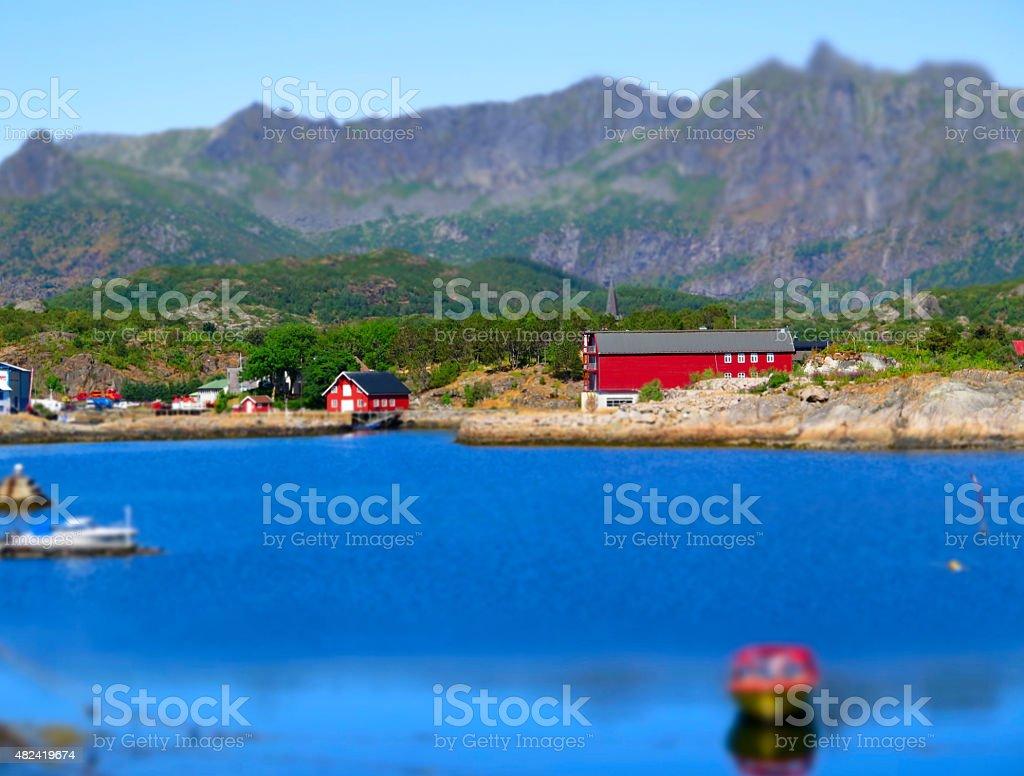 Rorbuer stock photo