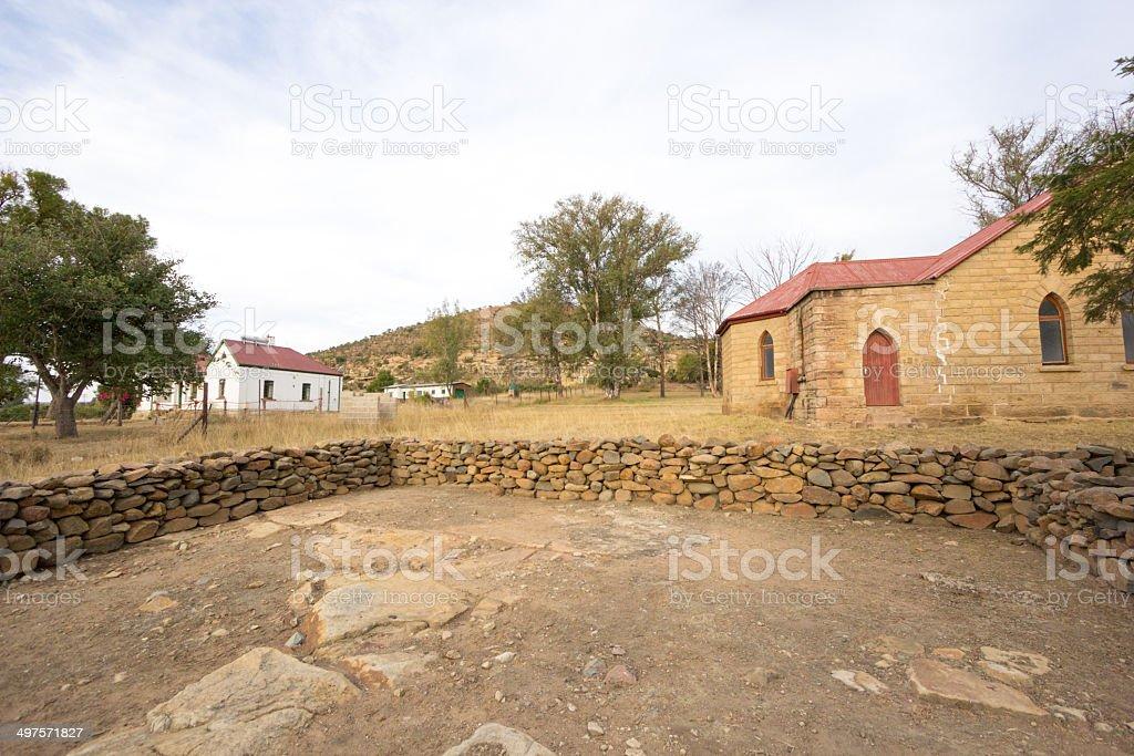 Rorke's Drift in KwaZulu-Natal, South Africa royalty-free stock photo