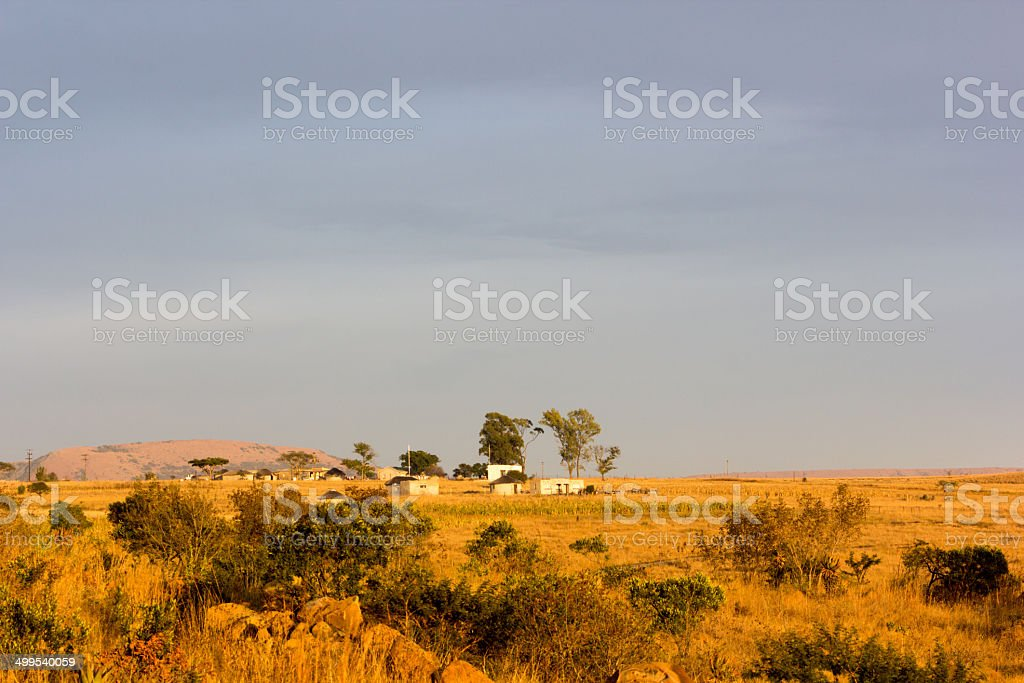 Rorke's Drift in KwaZulu-Natal, South Africa royalty-free stock photo