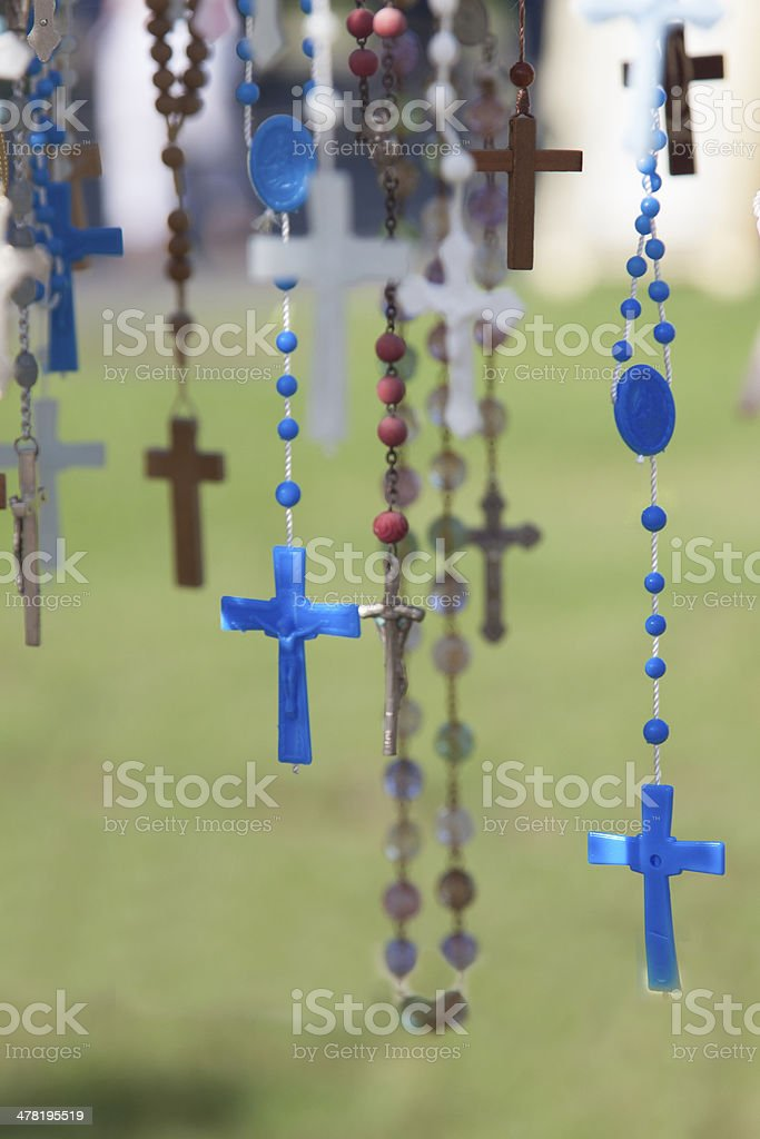 Rosaries royalty-free stock photo