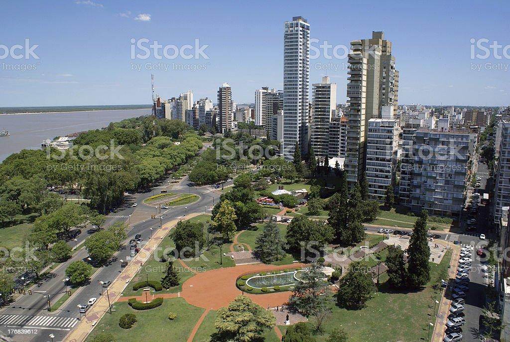 Rosario, Santa Fe, Argentina stock photo