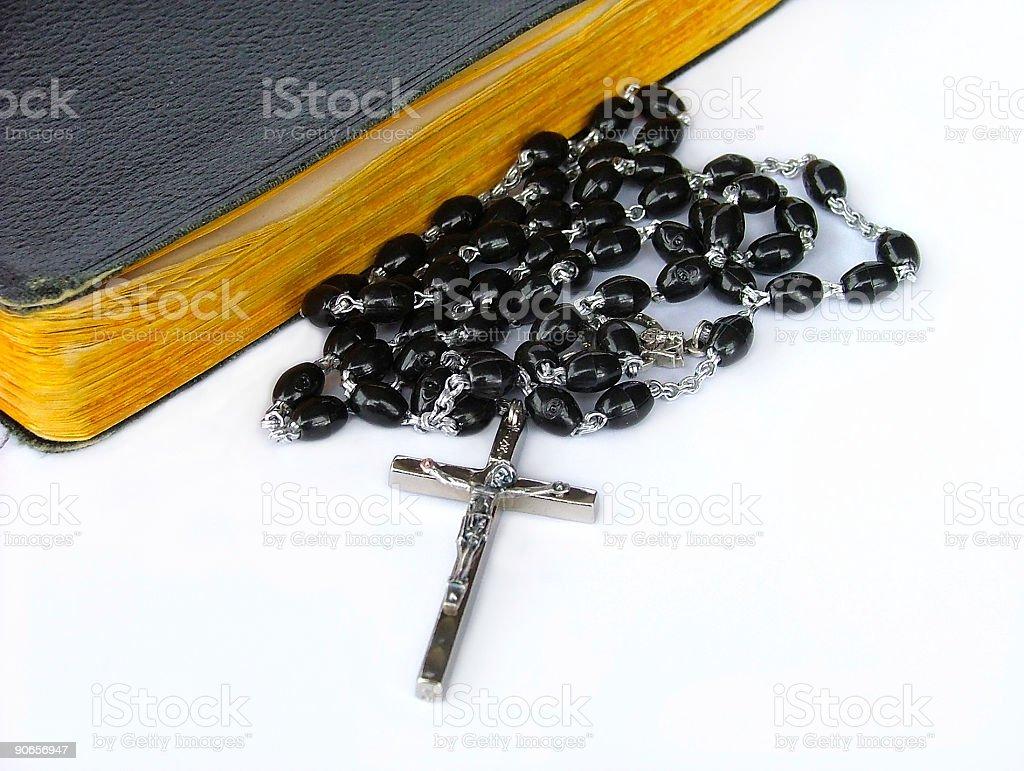 rosary bead royalty-free stock photo