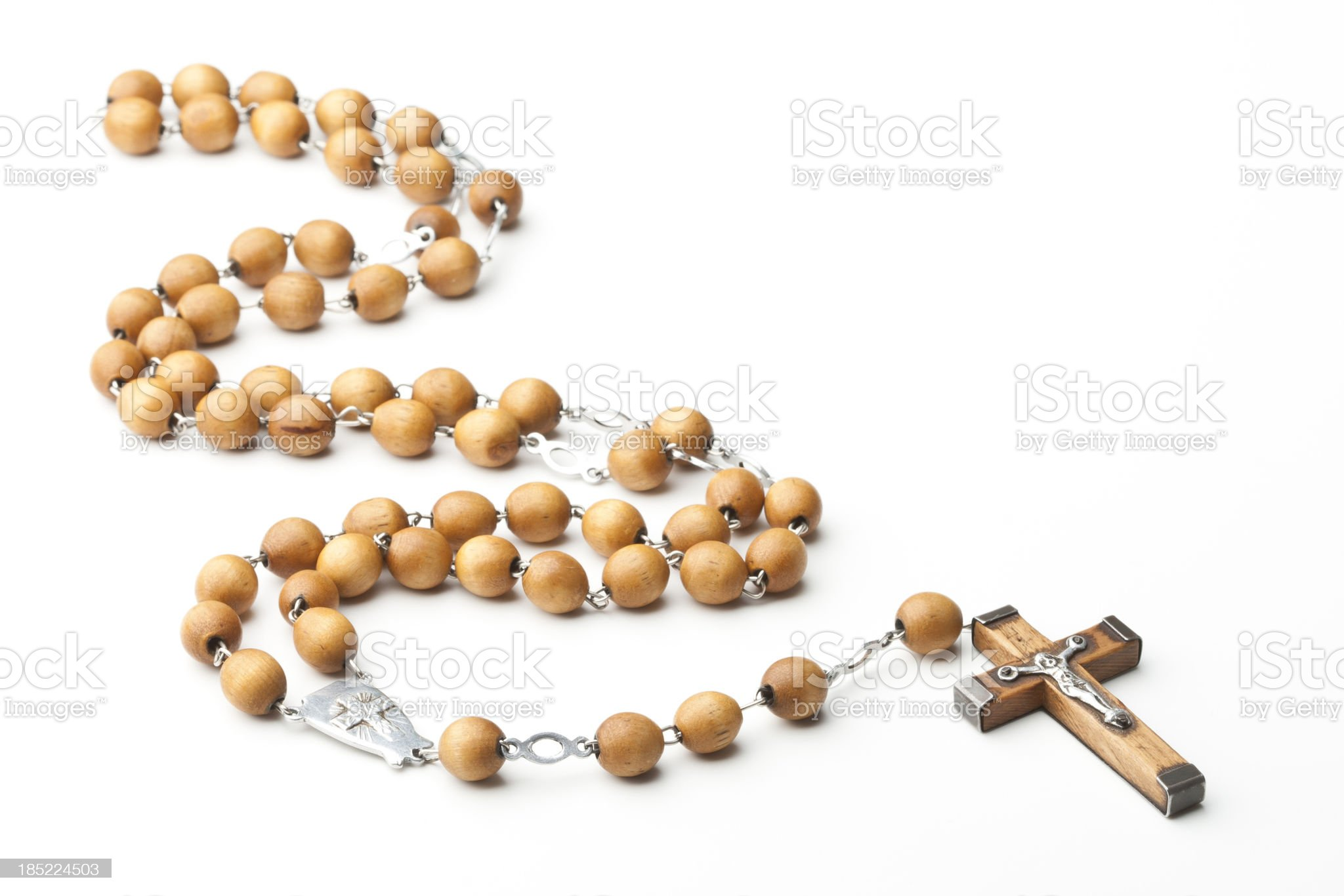 Rosary beads royalty-free stock photo