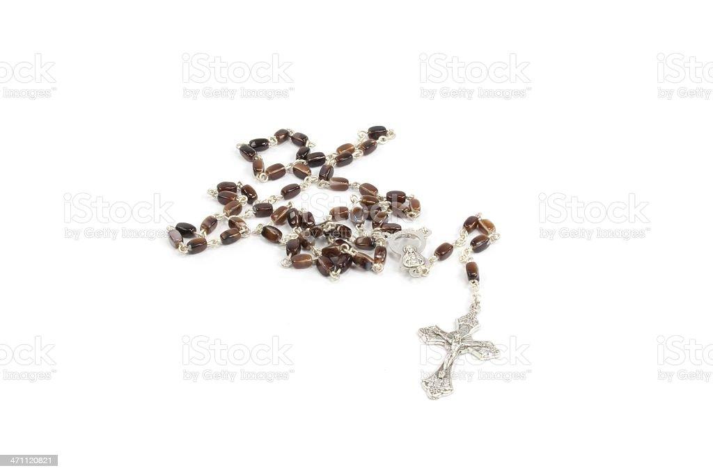 rosary beads royalty-free stock photo
