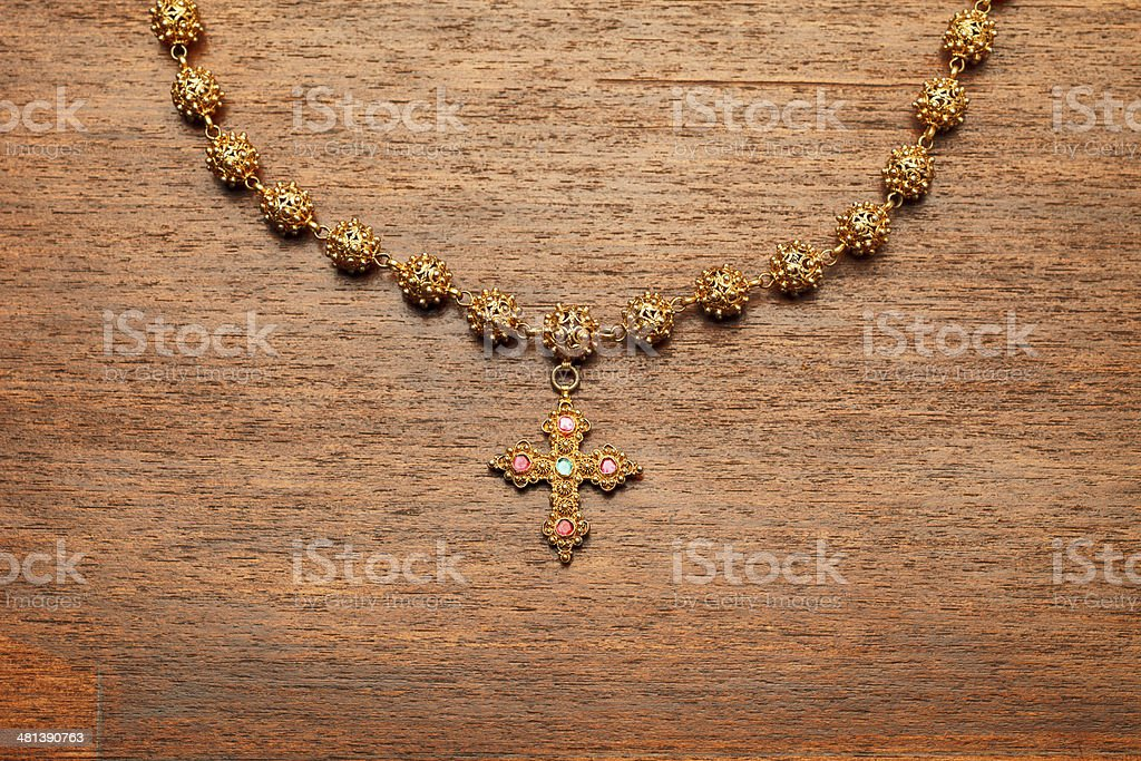 Rosary royalty-free stock photo