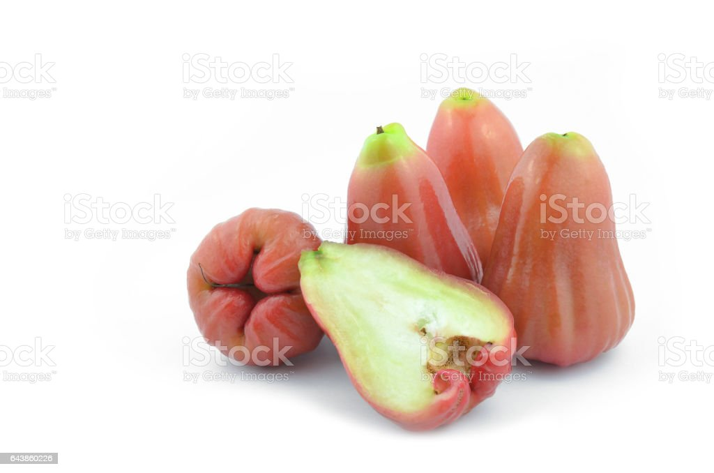 Rose apple summer fruit in thailand. stock photo