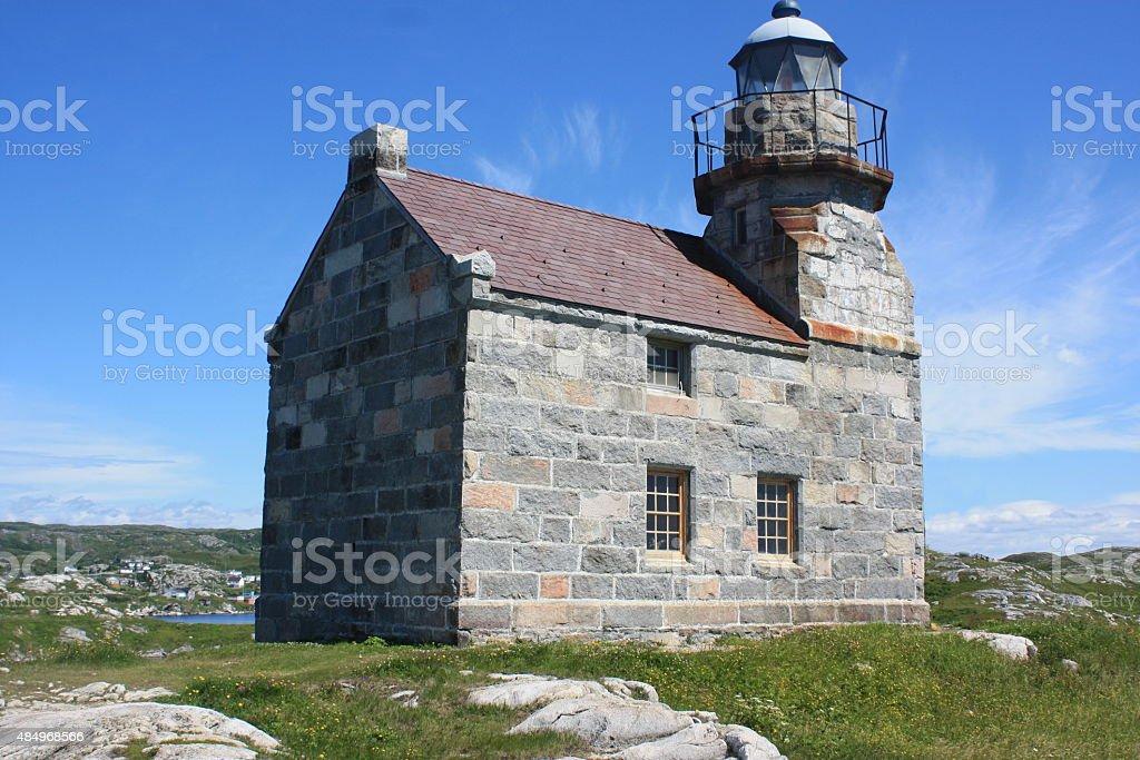 Rose Blanche Lighthouse - Newfoundland stock photo