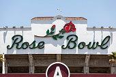 Rose Bowl Sign in Pasadena California