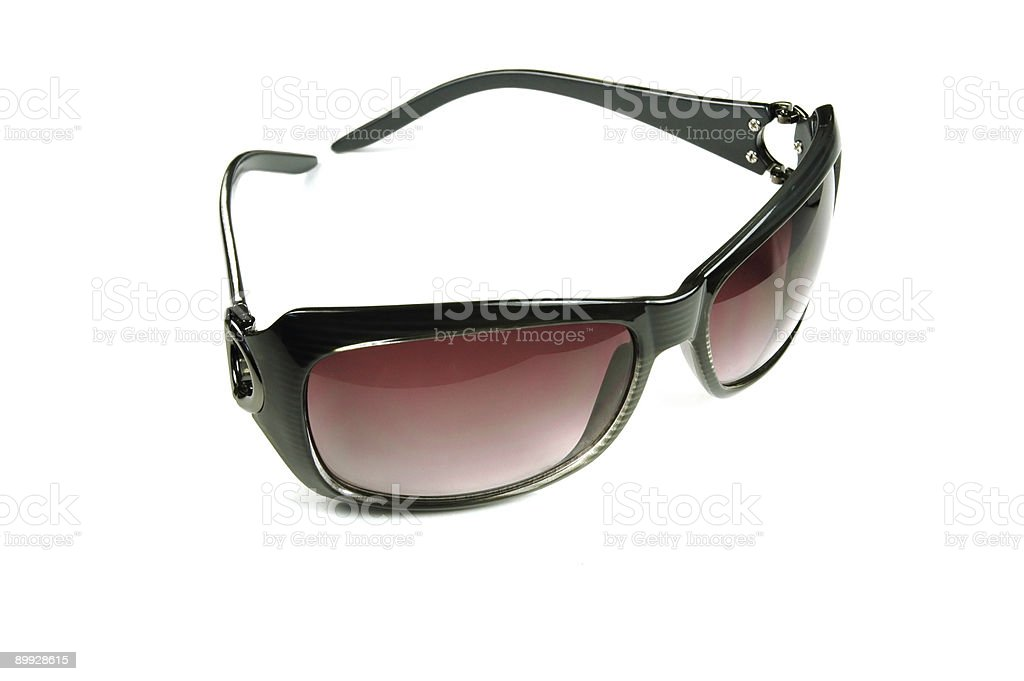 Rose colored sunglasses royalty-free stock photo