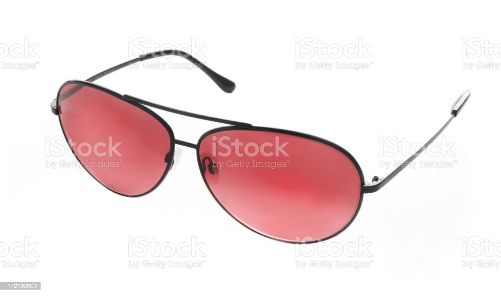 Rose Coloured Glasses stock photo