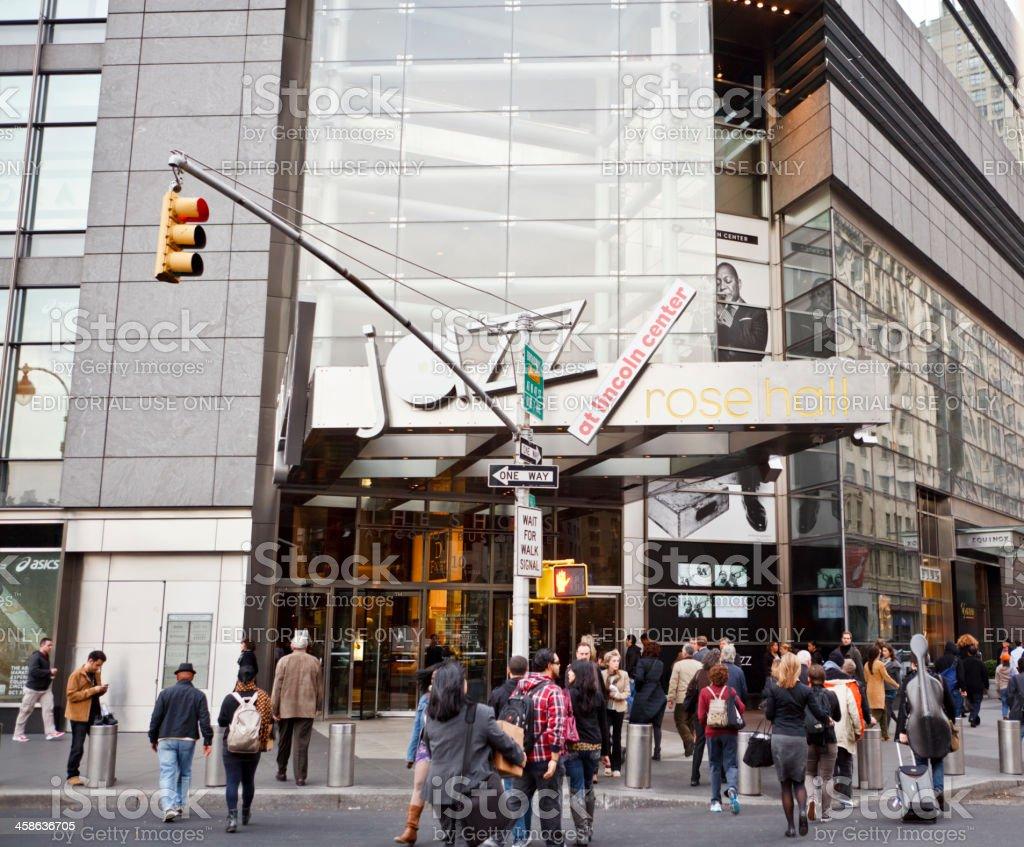 Rose Hall Jazz at Lincoln Center Manhattan stock photo
