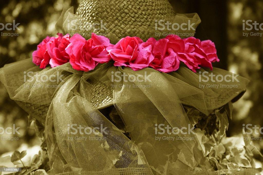 Rose Hat royalty-free stock photo