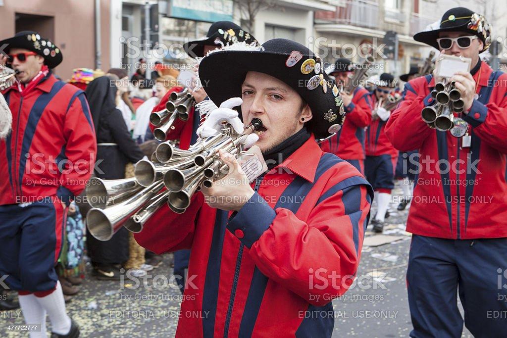 Rose Monday Carnival Parade Mainz 2014 royalty-free stock photo