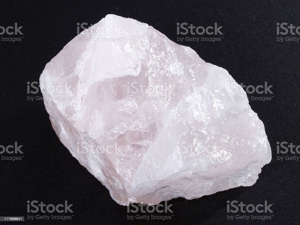 Rose Quartz royalty-free stock photo