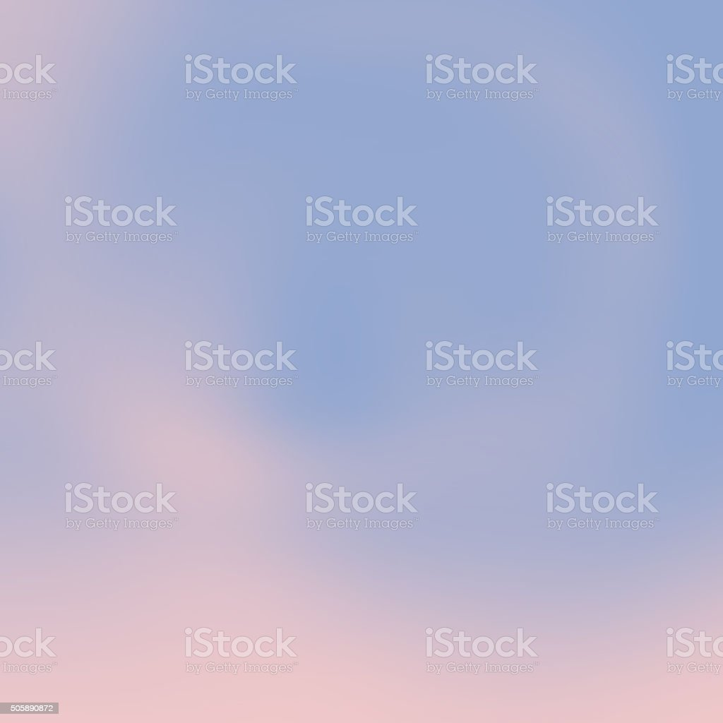 Rose Quartz Pink and Serenity Blue Blured Background stock photo