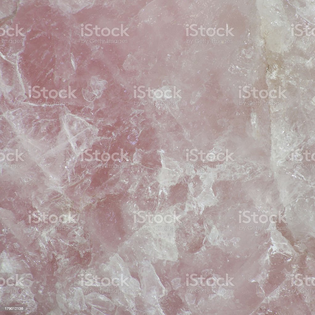 Rose quartz surface stock photo