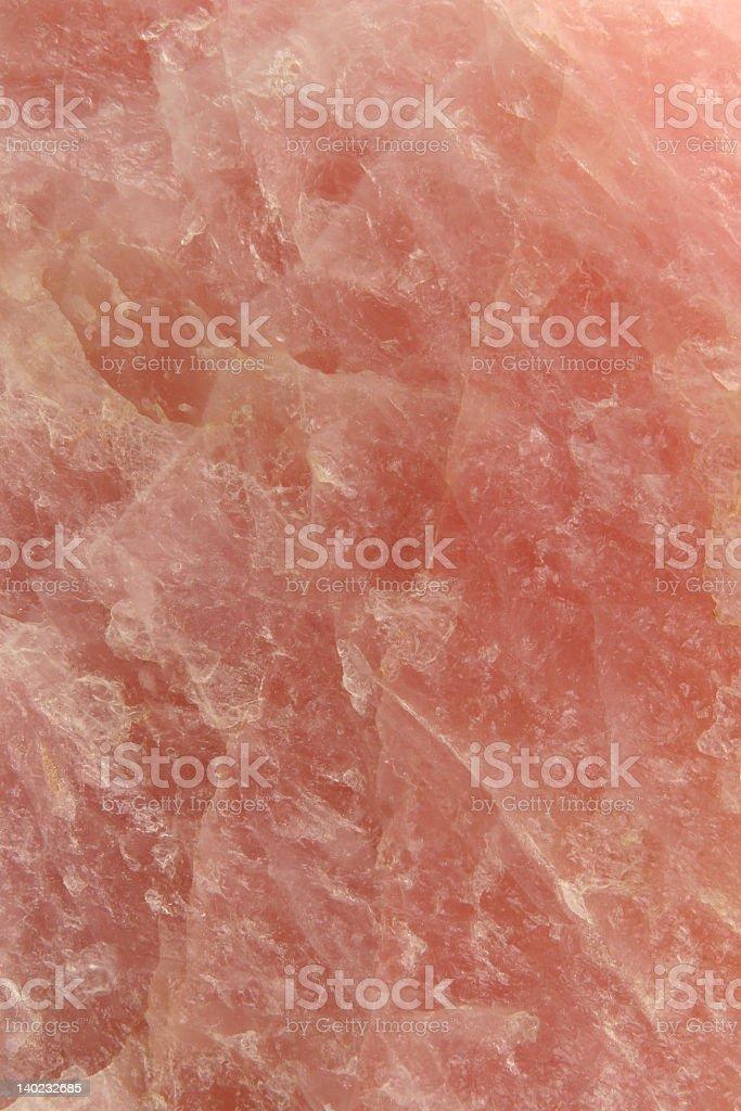 Rose Quartz - vertical stock photo