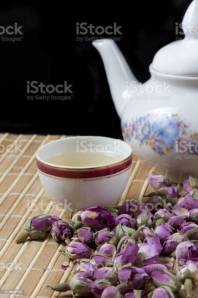 Rose Tea royalty-free stock photo