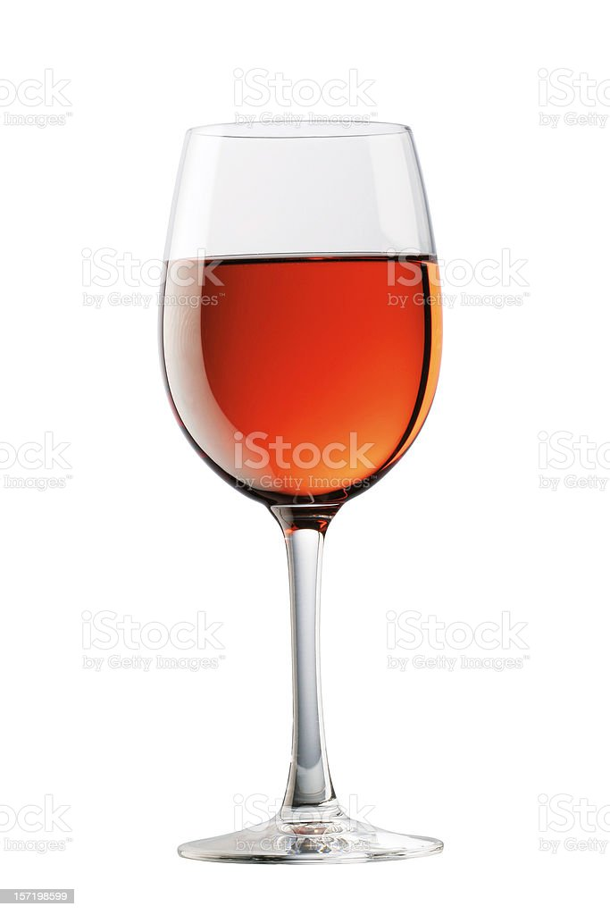 Rose wine royalty-free stock photo
