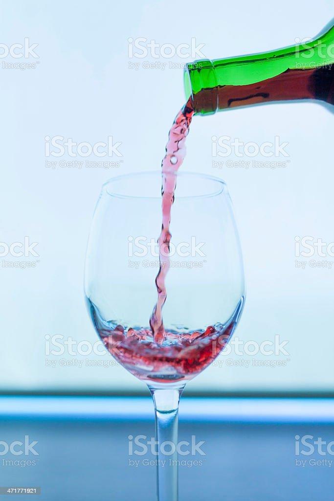 rose wine royalty-free stock photo
