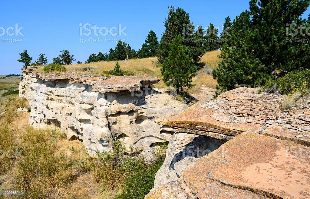 Rosebud Battlefield State Park stock photo