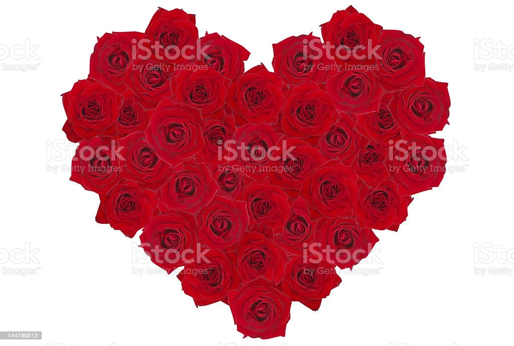 rose-heart 2 royalty-free stock photo