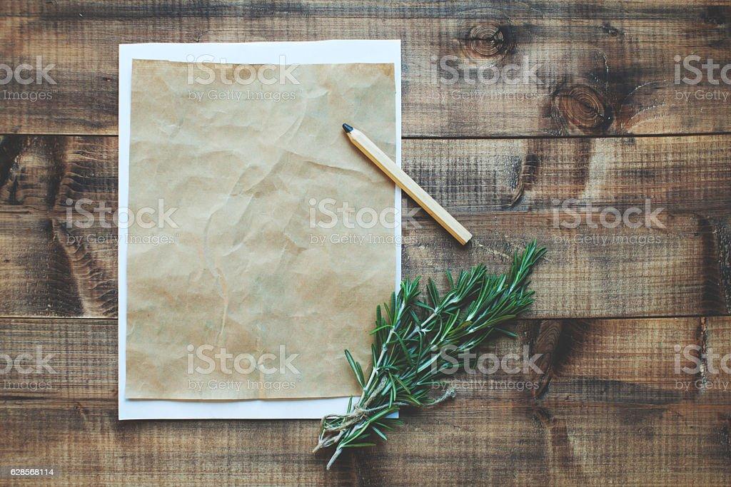 Rosemary stock photo