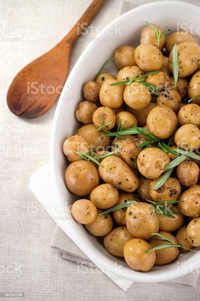 Rosemary Potatoes royalty-free stock photo