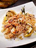BBQ Rosemary Shrimp Skewers