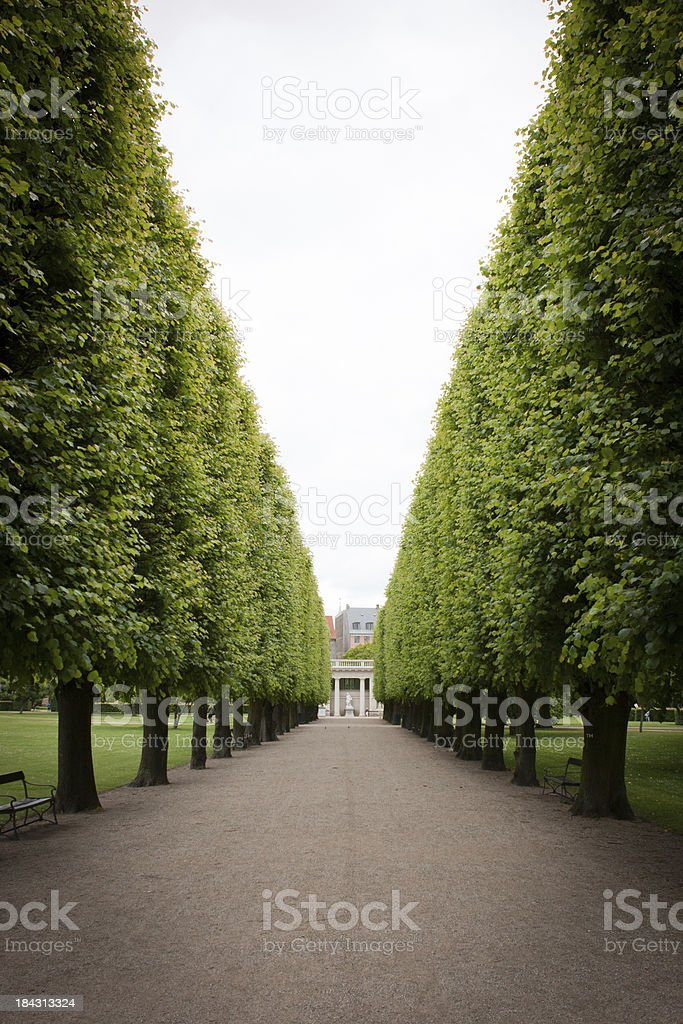 Rosenborg Castle Grounds stock photo